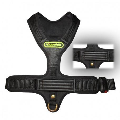 szelki dla psa z uchwytem Sport czarne Niggeloh GmbH Germany szelki dla psa myśliwskiego